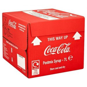 Coca Cola, post-mix 7lt x 1