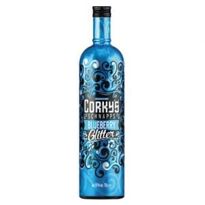 Corky's Blueberry Glitter, 70cl
