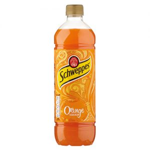 Schweppes Orange Cordial, PET 1lt x 12